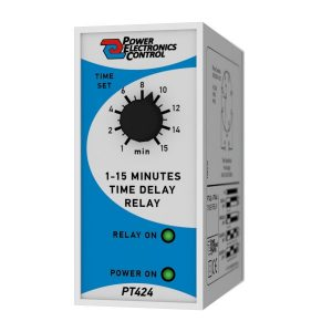 Χρονορελέ Καθυστέρησης 1-15min PT424